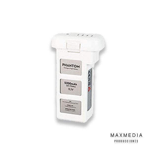 Batería DJI 5200 mAh LiPo alquiler bogotá - MaxMedia