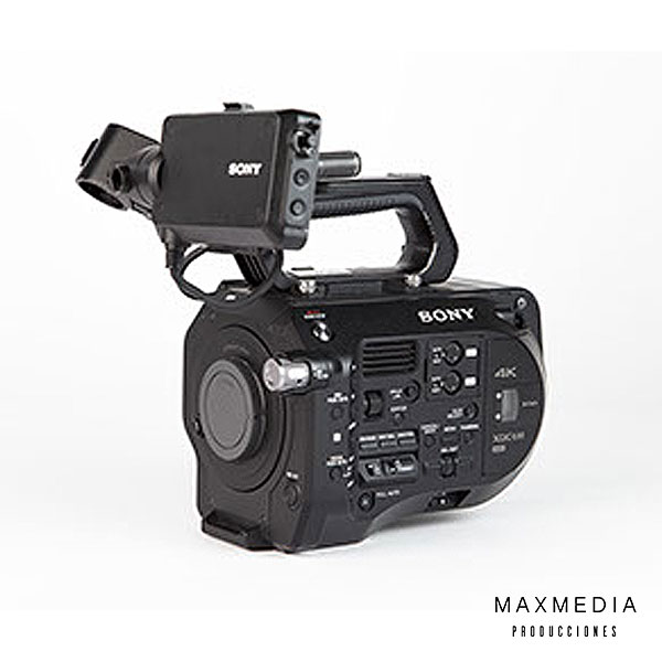 Cámara SONY FS7 alquilar bogotá - MaxMedia