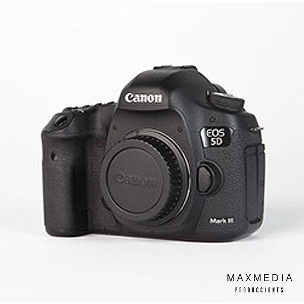 Cámara fotográfica Canon EOS 5D Mark III DSLR Bogotá Alquiler - MaxMedia