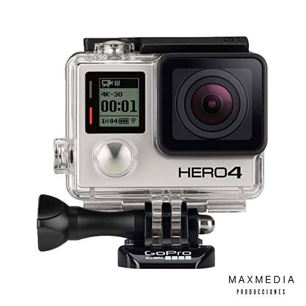 GoPro Hero 4 Black para alquilar en Bogotá Colombia - MaxMedia Productora