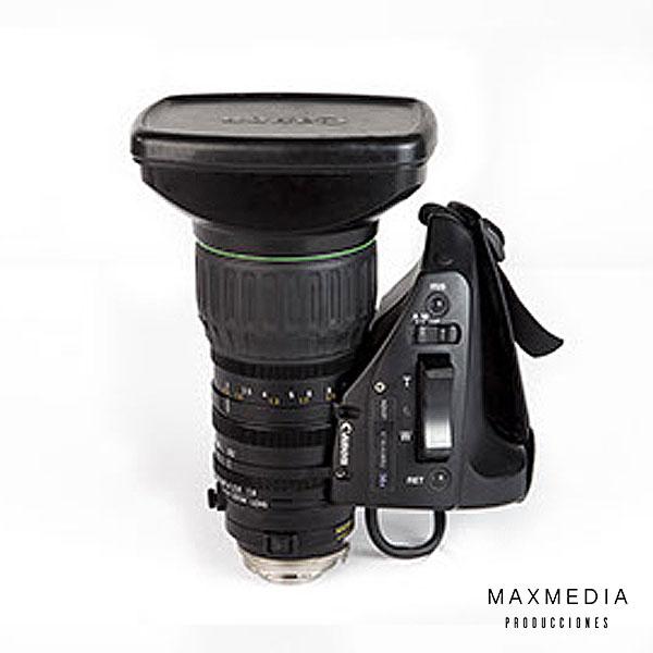 "Lente Canon KT14X44KRS 1_3"" HDgc alquiler Bogotá Colombia - MaxMedia"