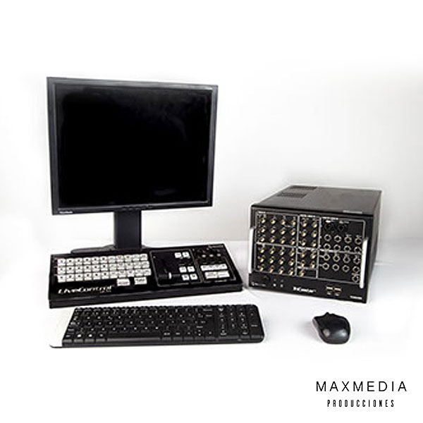 NewTek TriCaster TCXD300 Alquiler equipos Bogotá - MaxMedia