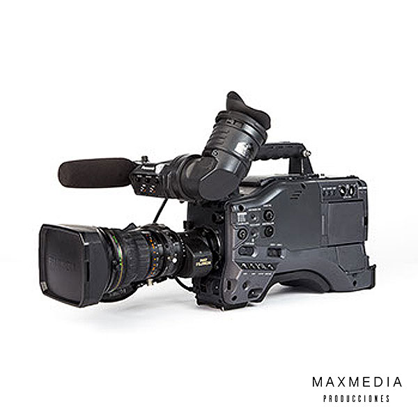 Panasonic AG-HPX500 + Fujinon xa17x7.6berm-m58b para alquiler en Bogotá Colombia - MaxMedia