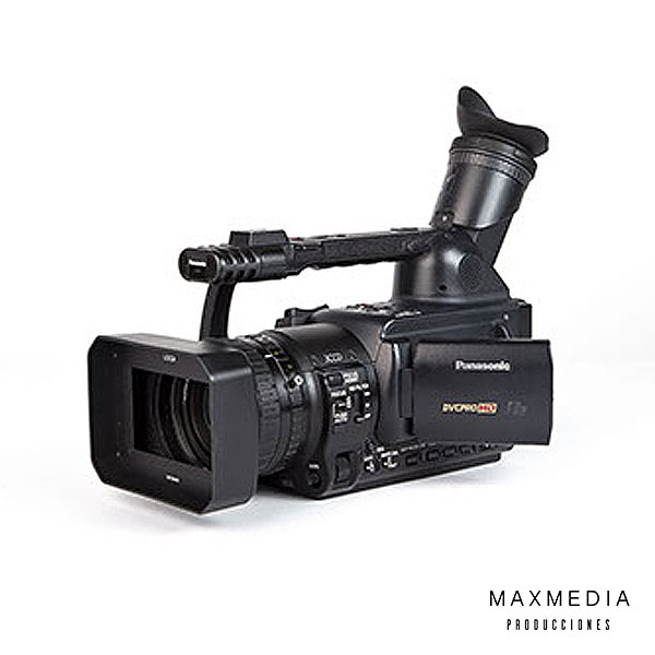Panasonic AG-HVX200 DVCRO HD para alquiler en Bogotá Colombia - MaxMedia